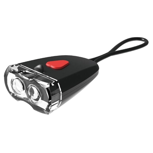 Torch Flashing Light, USB Head Light Black/White