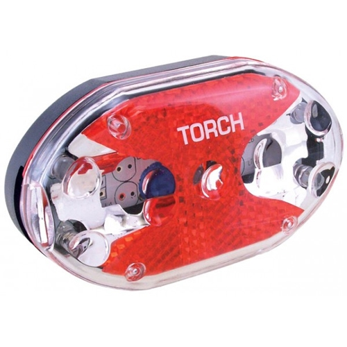 Torch Tail Bright 5X Rear Flashing Light
