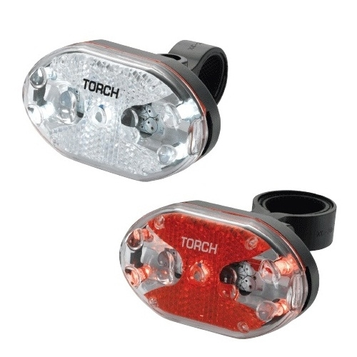 Torch Tail/White Bright 5X Flashing Light Set