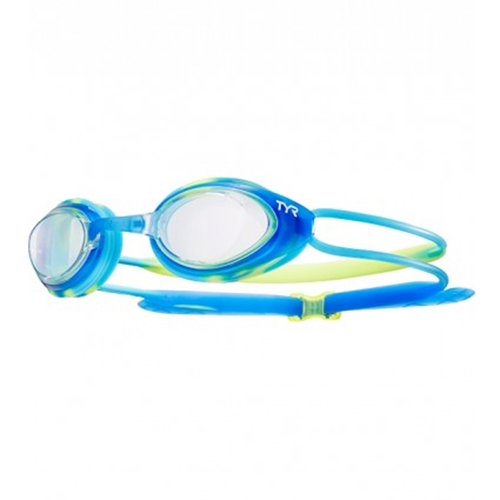 Tyr Blackhawk Racing Junior Kid's Clear/Blue/Green