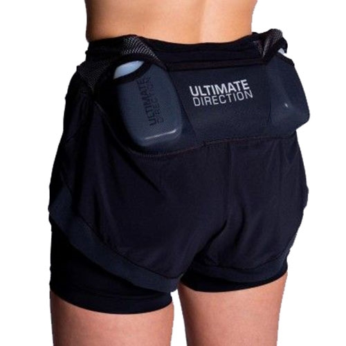 UD Hydro Short Women's Onyx - Ultimate Direction Style # 83466019ONX S19