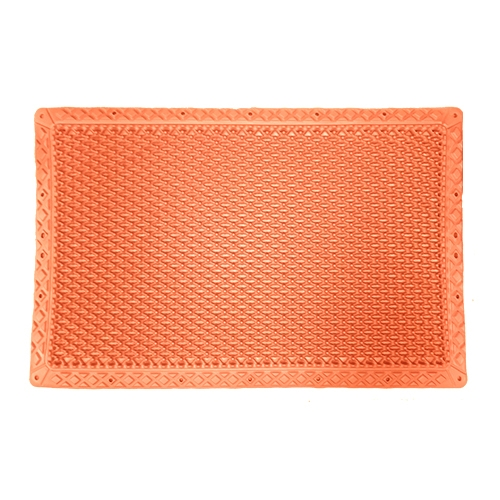 "Vigurus REG Anti-Fatigue Mat Orange 27.5"" X 18"" X 1"""