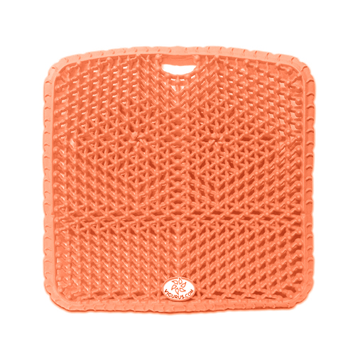 "Vigurus Topper Cushion Orange 17.5"" X 17.5"" X 1"