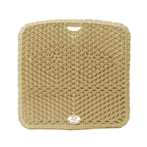 "Vigurus Topper Cushion Bronze 17.5"" X 17.5"" X 1"