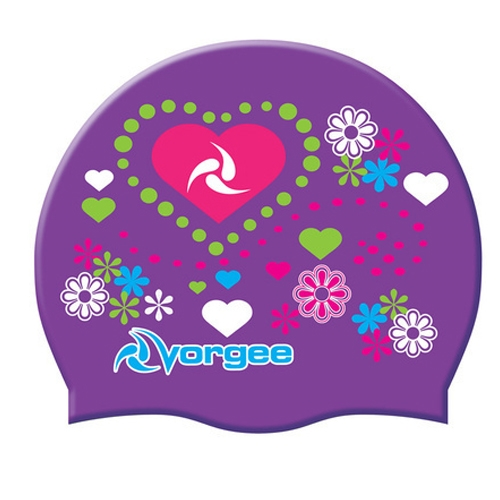 Vorgee Miss Glamour Cap Purple Hearts