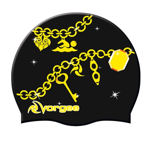 Vorgee Miss Glamour Cap Black Charms