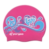 Vorgee Miss Glamour Cap Pink Peace Love