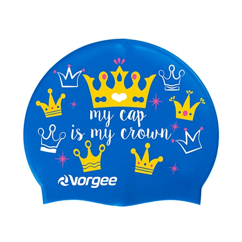 Vorgee Miss Glamour Cap Blue Crown