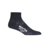 Wrightsock Coolmesh II 1/4 Unisex Black Double Layer Sock