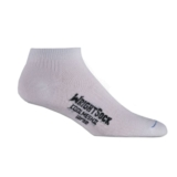 Wrightsock Coolmesh II Lo Unisex White Double Layer Sock