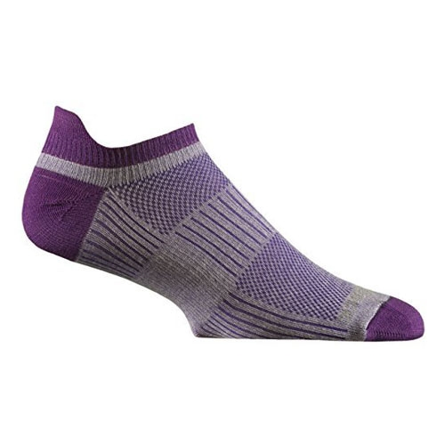 Wrightsock DL Coolmesh II Tab Women's Purple/Plum