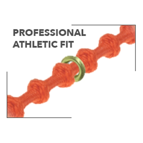 "Xtenex X300 Flared Laces 30"" Neon Orange"