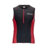 Zoot Active Tri Mesh Tank Men's Black/Race Day Red
