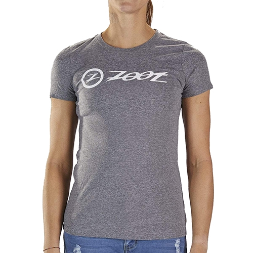 Zoot Combo Logo Tee Women's Grey Heather