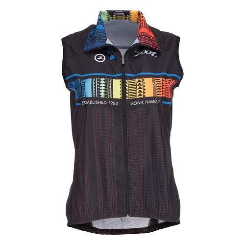 Zoot Cycle Ali'I Wind Vest Women's Flying Hawaiian - Zoot Style # Z1603019 F16