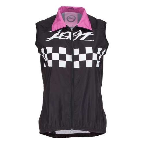 Zoot Cycle Cali Wind Vest Women's Paradise Checker