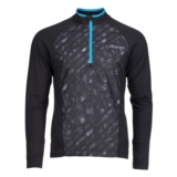 Zoot Dawn Patrol 1/2 Zip Men's Black/Rip Tide