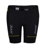 "Zoot Performance Tri 8"" Short Men's Black/Atomic Yellow"