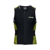 Zoot Performance Tri Full Zip Men's Volt Checkers