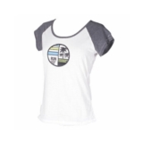 Zoot Sunset Ink Tee Women's White