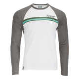 Zoot Surfside Ink L/S Men's White/Graphite Heather
