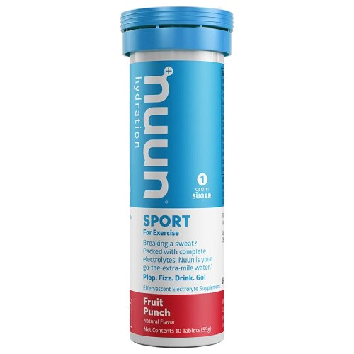 nuun Active Hydration Single Fruit Punch