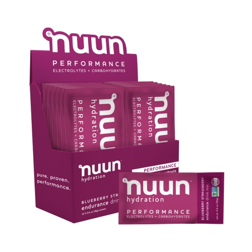 nuun Performance Sachets Blueberry Strawberry (12 SER)
