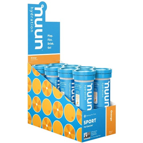 nuun-Sport-Hydration-8Tubes Orange
