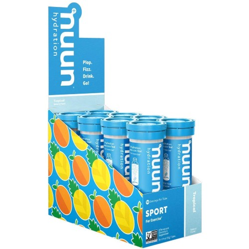 nuun-Sport-Hydration-8Tubes Tropical Fruit