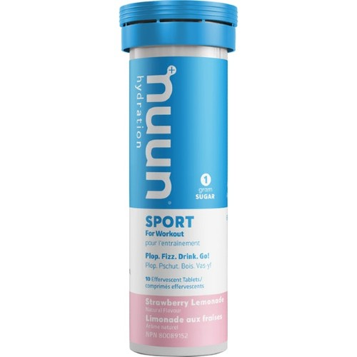 nuun-Sport-Hydration-Single Strawberry Lemonade